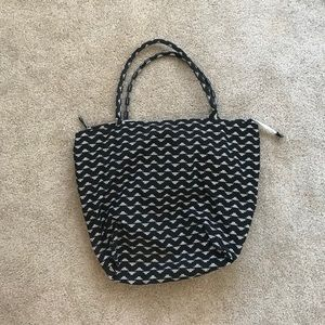 Old Navy Black White Hobo Bag Aztec